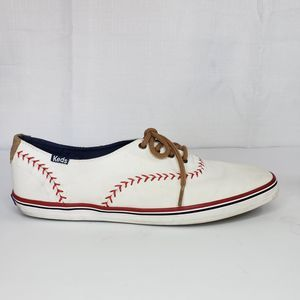 Keds Ortholite White Shoes Size 8.5